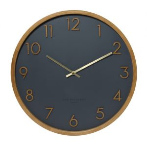 Scarlet Clock Charcoal