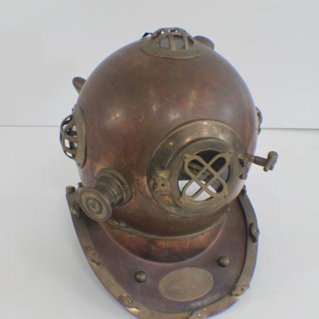 Vintag dive helmet